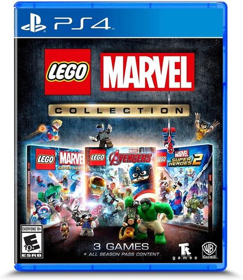 Lego Marvel Collection Ps4 Mídia Física Lacrado Pt Br