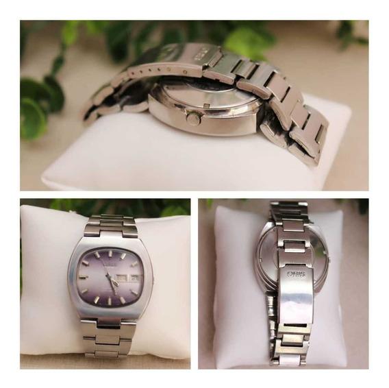 Relógio Oris Automatic Anti-shock Com 25 Jewels