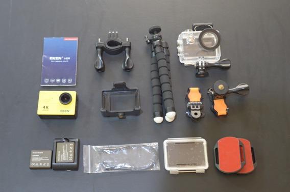 Câmera De Ação Eken H9r - Filma 4k Concorrente Gopro