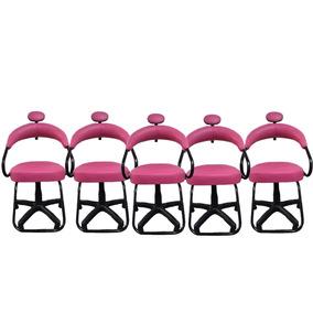 Cadeira Para Salão De Beleza 5 Unidades