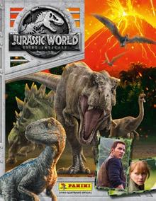 Lote 10 Figurinhas Jurassic World Reino Ameaçado