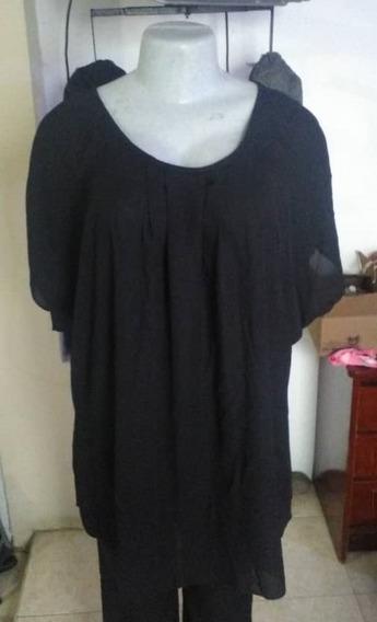 Blusa Negra Para Dama Talla Plus