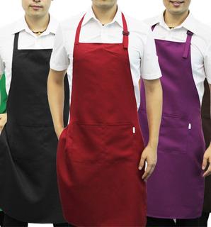 Delantales De Cocina Con Bolsillo Y Hebilla Varios Coloress