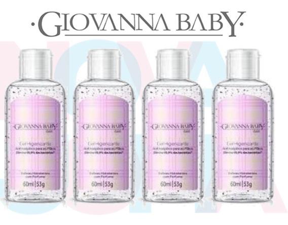 Álcool Em Gel 70% Giovanna Baby C/04 Un Classic 60ml