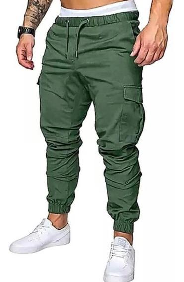 Pantalon Jogger Cargo Chupin Casual