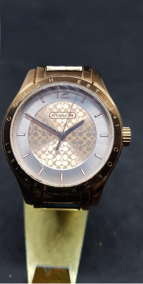 Reloj Coach Rose Gold Mujer Modelo 1453407