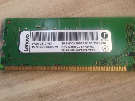 Memória Lenovo 8gb Ddr4 2133mhz Desktop Fru 03t7467
