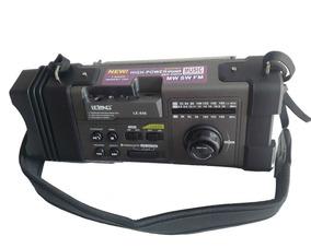 Rádio Portátil Bluetooth Fm/mw/sw 3 Bandas Analógico Wireles