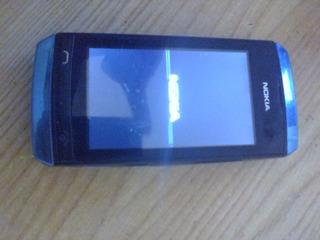 Telefono Basico Nokia Asha 306 Con Detalle
