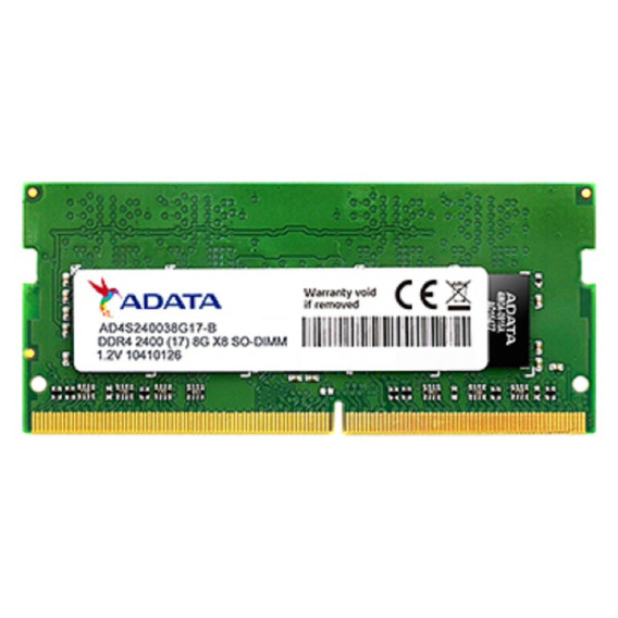 Memoria Para Notbook Adata 8gb Ddr4-2400mhz Notebook