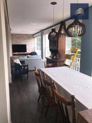 Apartamento No Condomínio Parque Clube, 134m², 4 Dormitórios, 2 Suítes, 2 Vagas, Estuda Permuta. - Ap0841
