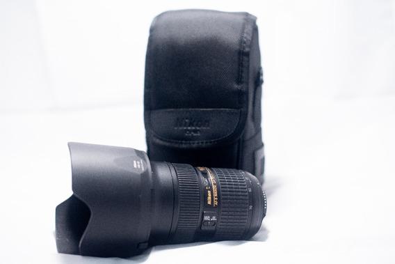 Lente Nikon Af-s Nikkor 24-70mm F/2.8g Ed Serie N + Hoya