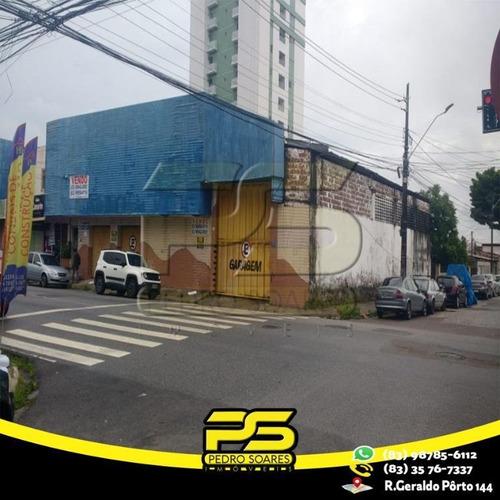 Imagem 1 de 1 de Galpão À Venda, 480 M² Por R$ 850.000 - Jaguaribe - João Pessoa/pb - Ga0024
