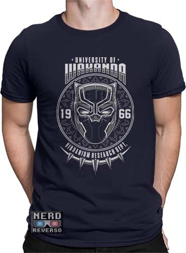 Camisetas Pantera Negra Wakanda Vingadores T