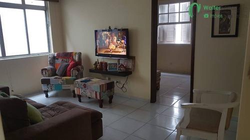 Imagem 1 de 11 de Apartamento 2 Dormitórios, No Bairro Aparecida, Em Santos - 2701