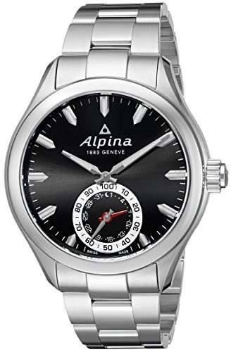 Alpina Mens Al285bs5aq6b Horological Display Analogico Swiss