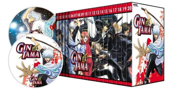Dvd Box Gintama