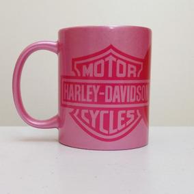 Caneca Harley Davidson Rosa 325 Ml