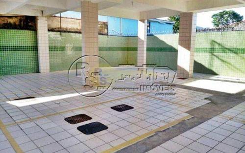 Imagem 1 de 16 de Apartamento Com 1 Dorm, Solemar, Praia Grande - R$ 165 Mil, Cod: 1965 - V1965