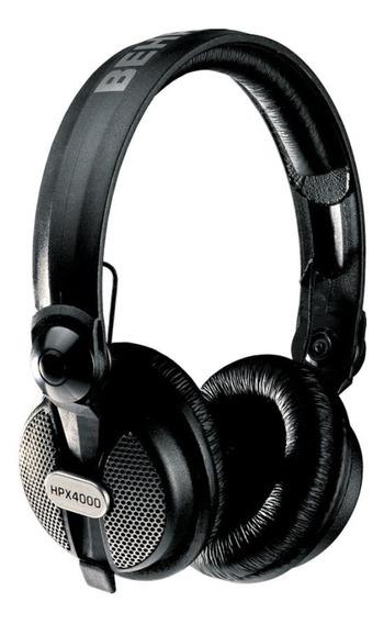 Fone de ouvido Behringer HPX4000 preto