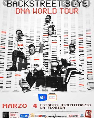 Entradas Concierto Backstreet Boys En Chile