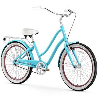 Bicicleta Sixthreezero Para Mujer 1 Velocidad Color Teal
