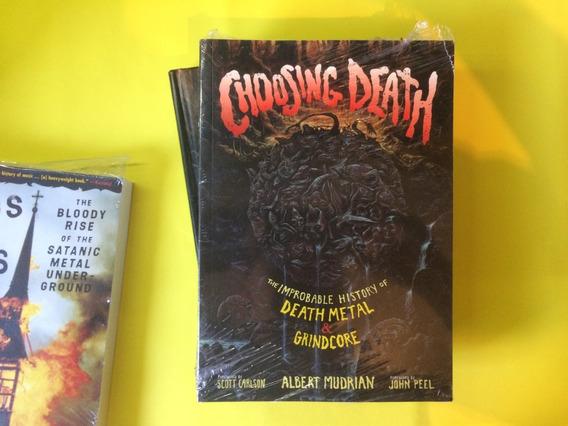 Livro Choosing Death - Napalm Death - Carcass - Morbid Angel