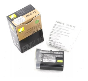 Bateria Nikon En-el15 1900mah Pronta Entrega