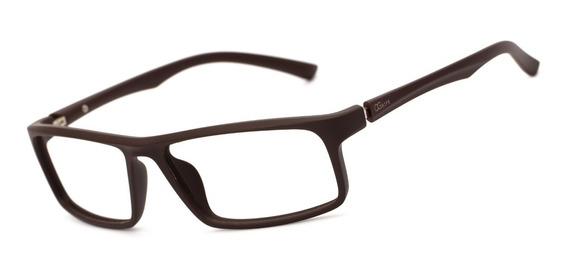 Armação Oculos Ogrife Og 1750-c Masculino Com Lente Sem Grau