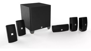 Home Theater Jbl Cinema 610 5.1 Parlantes Subwoofer 101db