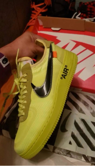 Tênis Air Force One Off White X 1 Volt