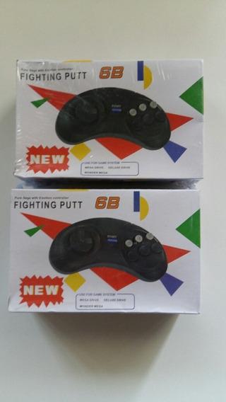 Controle Mega Drive Novo Controle Mega Drive Novo 2 Peças
