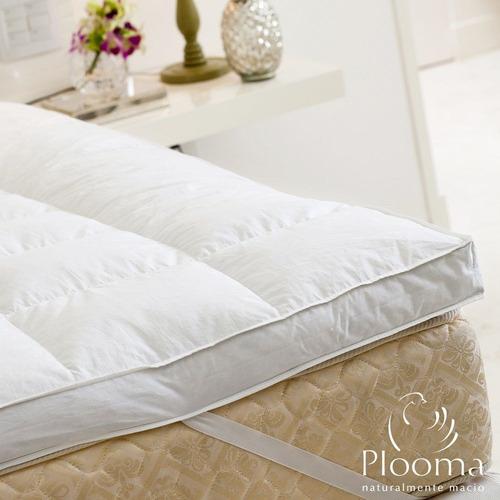 Pillow Top Plooma King 80% Penas 20% Plumas De Ganso Nomite