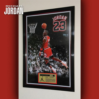 Cuadro Decorativo Michael Jordan Icono Del Deporte