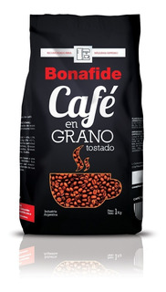 Cafe Grano Bonafide Expresso 6 Uni X 1 Kg Sellado En Origen