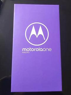 Motorola Moto One Macro 4gb + 64gb Libre De Fabrica Lte