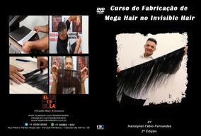 1 Dvd Curso De Completo Invisible Hair