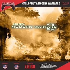 Call Of Duty Modern Warfare 2 Ps3 - Cod Psn - Envio Imediato