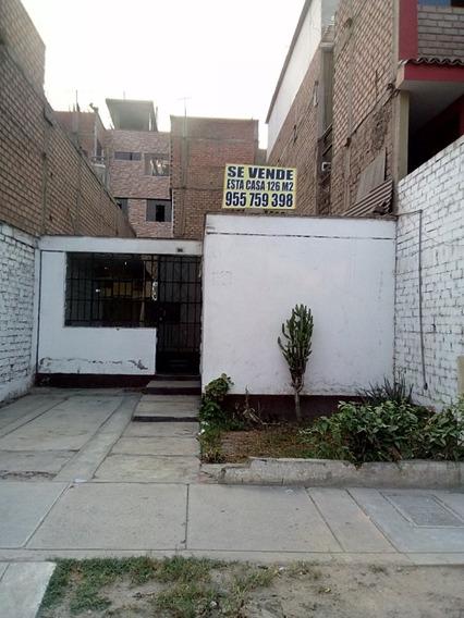 Vendo Casa De 126 M2 En Villa Sol Los Olivos