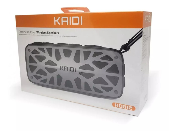 Caixa De Som Bluetooth Kaidi Kd812 Preto