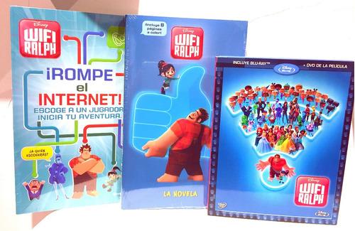 Wifi Ralph Disney  Edición Deluxe Coleccionista Gratis Envio
