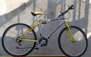 Bicicleta Rodado 26 Hombre Fiorenza 18 Cambios Suspensión
