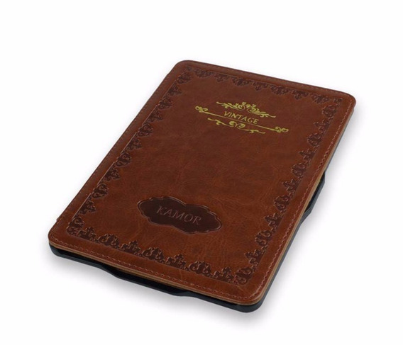 Capa Kindle Paperwhite Vintage Livro Case Proteção Pelicula