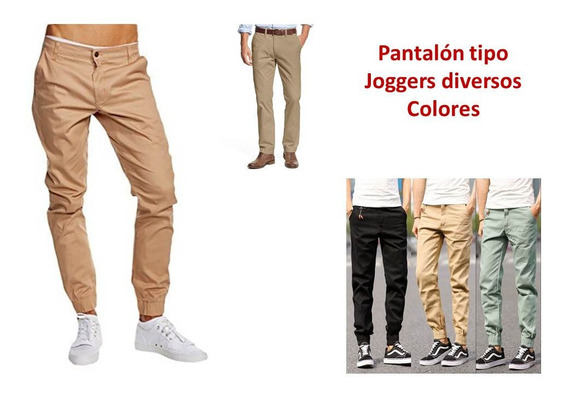 Pantalon Joggers Monos Para Caballeros Ropa Homb