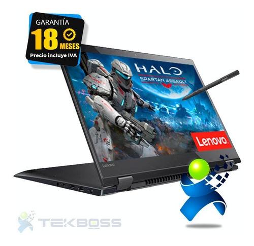 Convertible Lenovo Flex Corei5 16gb Ssd Touch Nvidia Huella