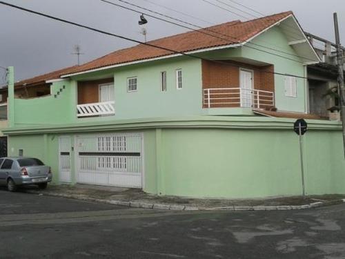 Imagem 1 de 16 de Lindo Sobrado À Venda, 04 Dormitórios, 05 Vagas - Vila Assunção - São Bernardo Do Campo - 29873