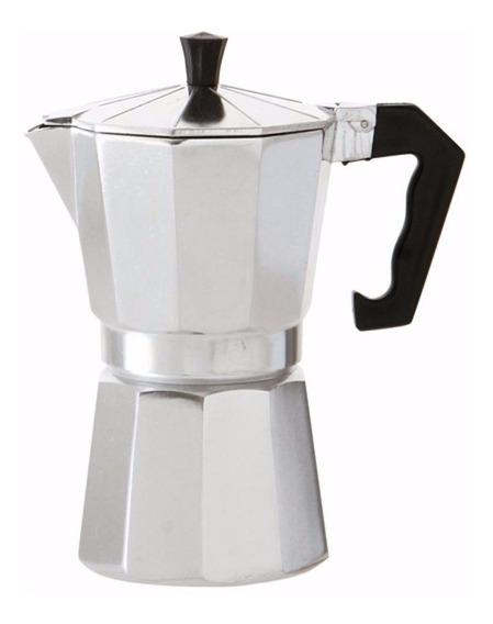 Cafetera Volturno Moka Alumino Mate 6 Pocillos