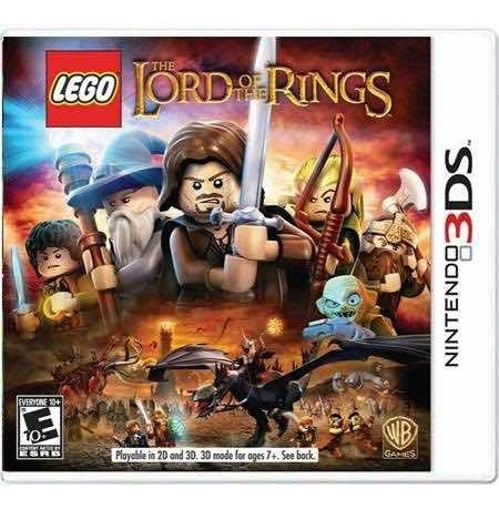 Lego The Lord Of The Rings Semi-novo 3ds