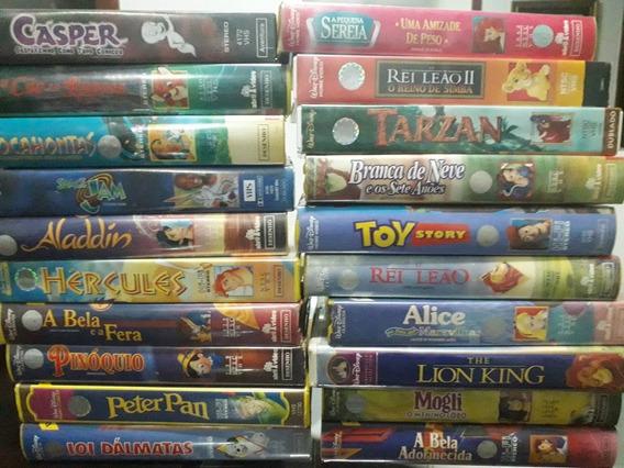 Lote De Vhs Raridades. Promoção Única Disney, Etc. (21 Uni)