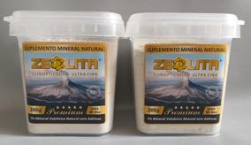 Kit Zeolita Premium 2x200g - Detox 100% Natural